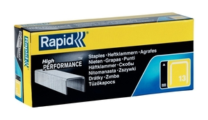 Zszywki RAPID typ 13 HIGH PERFORMANCE 6 mm